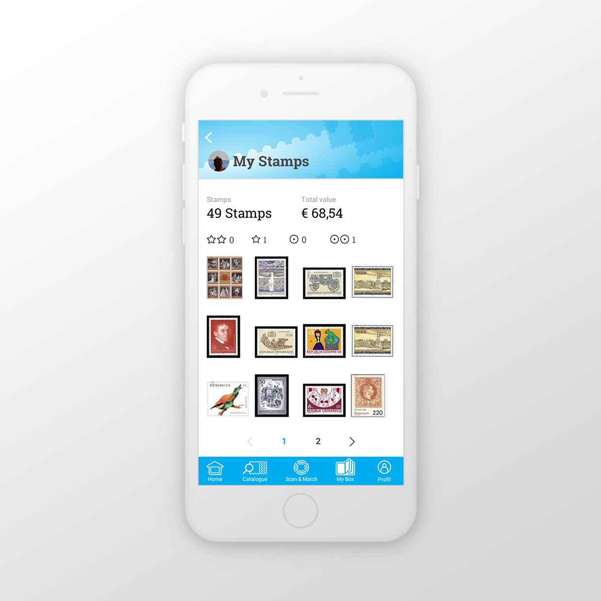 Stamp-Manager Home | Stamp-Manager